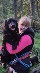 Holly at Lead Walkers